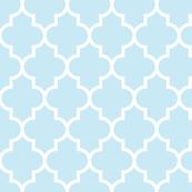 quatrefoil LG ice blue
