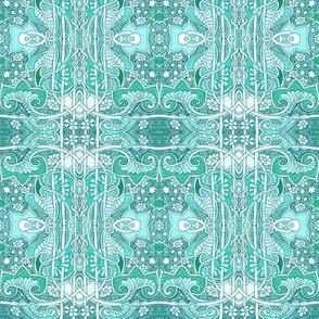 Aqua Green Fanta-Sea