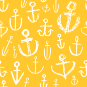 Anchors Aweigh Sunshine Yellow