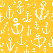 Anchors Aweigh Sunshine Yellow