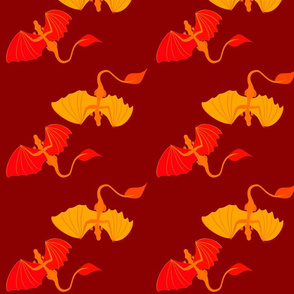 Simple Fall Dragons