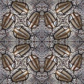 Antique Silver Trilobites (small)