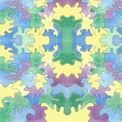 Watercolor puzzle