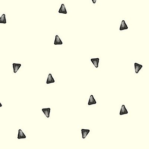 Watercolor Grey triangles