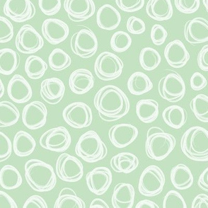 Squiggles - Mint - Small
