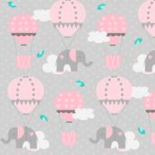 Hot Air Balloon Elephant
