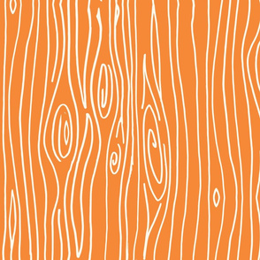 Wonky Woodgrain - Orange
