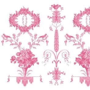 Rococo Garden sorbet pink