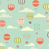 Yet Another Hot Air Ballon Print