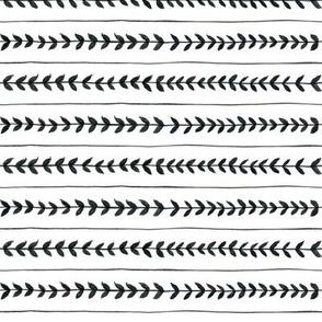 Laurel stripe - back and forth