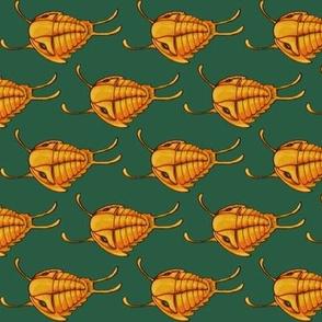 Swimming Trilobites (turquoise)