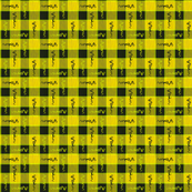 Yellow Funky Plaid