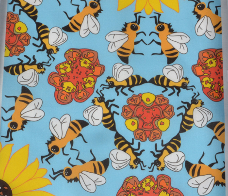Waggle Dancing Bees