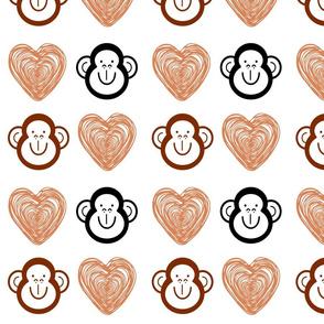 Monkey Love by Dee Larsen