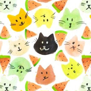 Kitty Watermelon Party