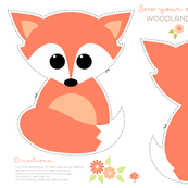 Sew your own baby fox