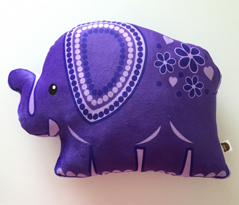 Sasha's Elephant All-in-One Cut 'N' Sew Plushie