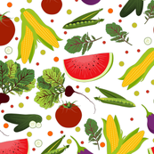 Fruits and Vegetable Rain