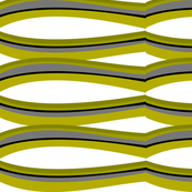Mid-Century Modern Abstract Swirls