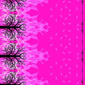 Pink fire tree