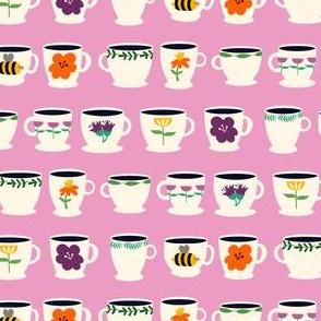 Tea Cups Pink