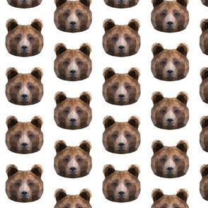 Geometric Brown Bear