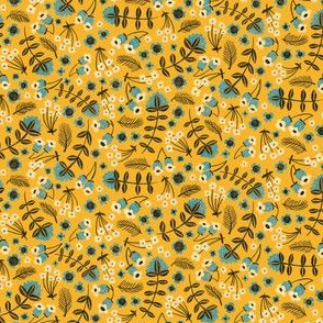 Folksy Floral - Yellow