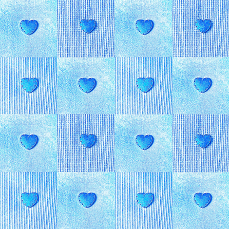 16 Hearts of blue