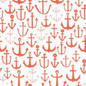 Anchors - Coral by Andrea Lauren
