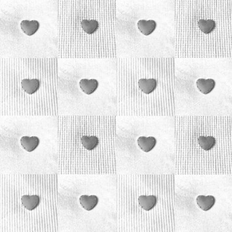 Hearts pale grey