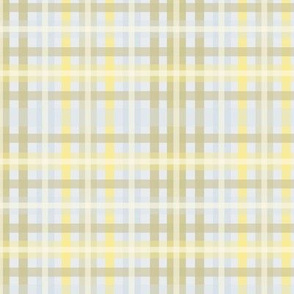 Plaid with Muted Tones (Forsythia)