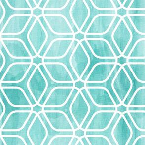 Honeycomb Aqua