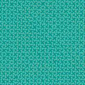 wave grid in surfing teal