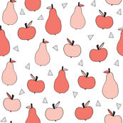 Apples and Pears - Bittersweet/Pale Pink by Andrea Lauren