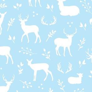 Deer - Blue