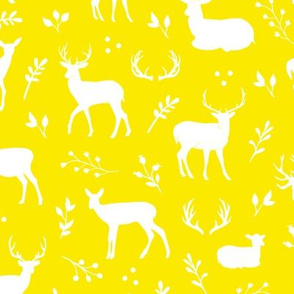 Deer - Yellow