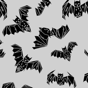 Geo Bats - Slate Grey by Andrea Lauren