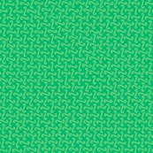 wave grid in green
