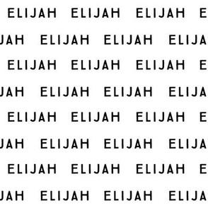 Elijah // Small