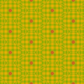 Modern Gingham (Lemon)