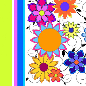 Flashy Flower Border 2