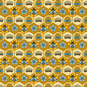 Bee Fabric- small