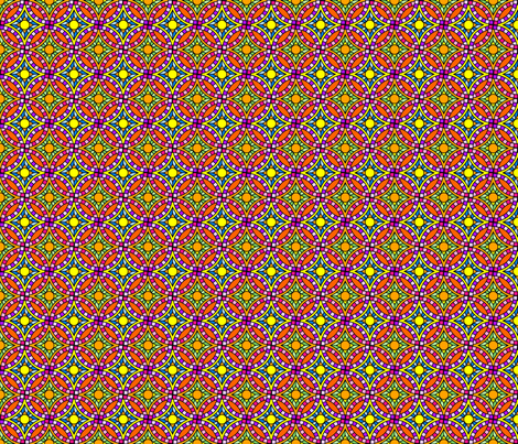 Interlaced Circles- colored