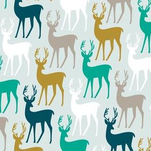 Reindeer Rows