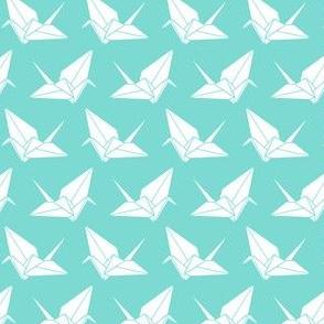 Folded Flock Dense: Aqua