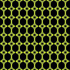 Spider Beads Yellow Black