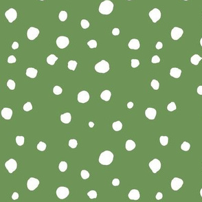 large scale dots - green