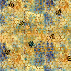 le miel bleu