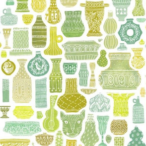 Vessel Collection in Green