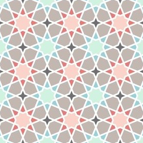 trendy octagonal stars
